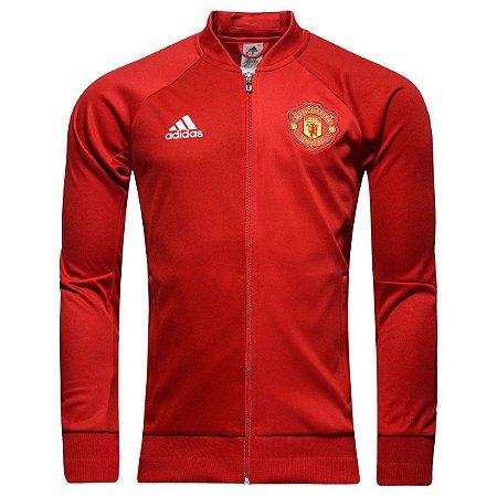 Jaqueta oficial Adidas Manchester United 2016 2017 Vermelha