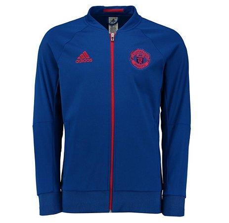 Jaqueta oficial Adidas Manchester United 2016 2017 Azul