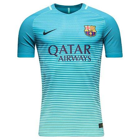 Camisa oficial Nike Barcelona 2016 2017 III jogador