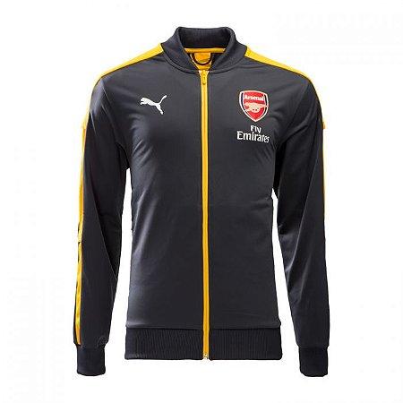 Jaqueta oficial Puma Arsenal 2016 2017 amarela