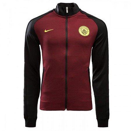 Jaqueta oficial Nike Manchester City 2016 2017 vermelha