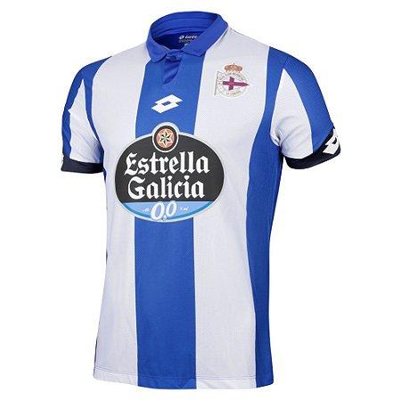 Camisa oficial Lotto Deportivo La Coruña 2016 2017 I jogador