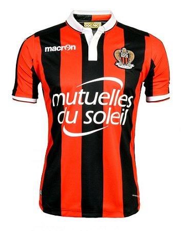 Camisa oficial Macron  OGC Nice 2016 2017 I jogador
