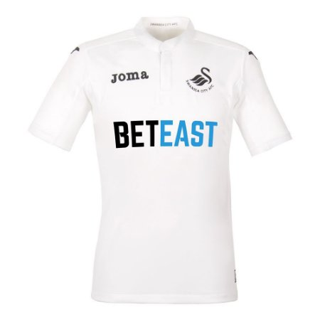 Camisa oficial Joma Swansea 2016 2017 I jogador
