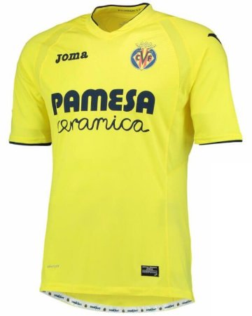 Camisa oficial Joma Villa Real 2016 2017 I jogador