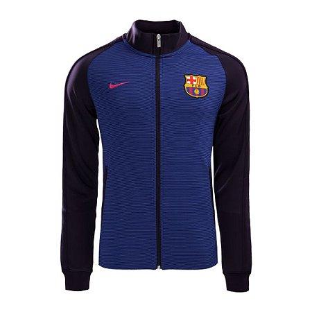 Jaqueta oficial Nike Barcelona 2016 2017 purpura