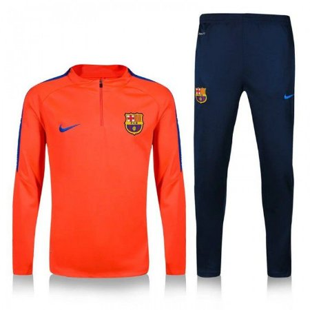 Kit treinamento oficial Nike Barcelona 2016 2017 laranja