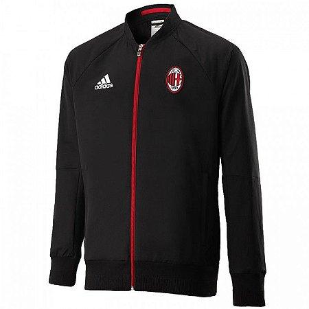 Jaqueta oficial Adidas Milan 2016 2017 Preta