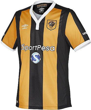 Camisa oficial Umbro Hull City 2016 2017 I jogador