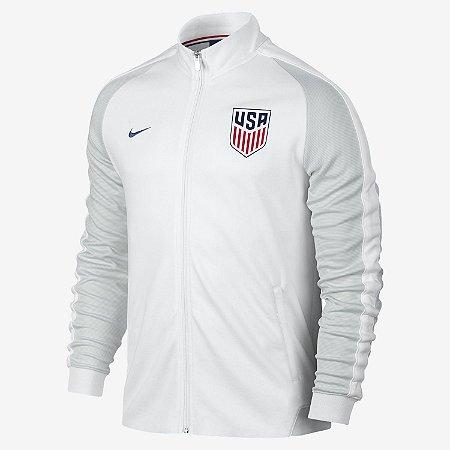 Jaqueta oficial Nike seleção dos Estados Unidos 2016 Branca