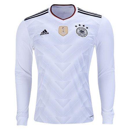 Camisa oficial adidas seleção da Alemanha  2017 I jogador Manga comprida