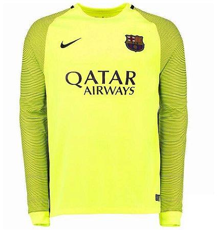 Camisa oficial Nike Barcelona 2016 2017 II Goleiro