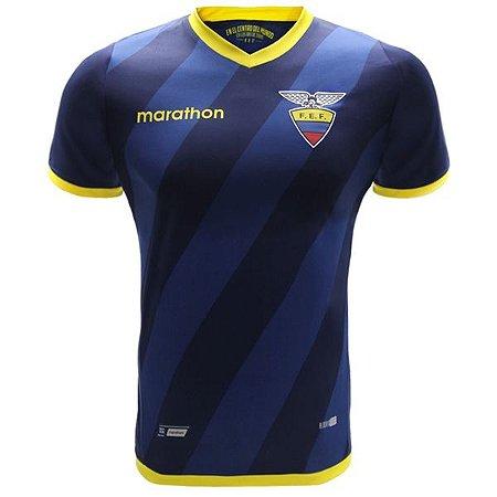 Camisa oficial Marathon Seleção do Equador 2016 II jogador