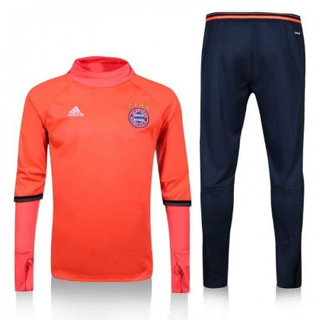 Kit treinamento oficial Adidas Bayern de Munique 2016 2017 Laranja e Azul
