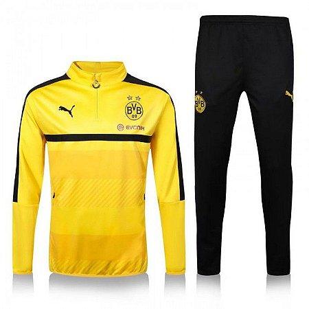 kit oficial treinamento Puma Borussia Dortmund 2016 2017 I