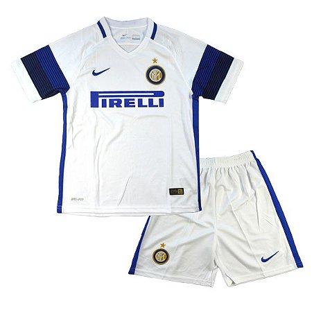 Kit oficial infantil Nike Inter de Milão 2016 2017 II jogador