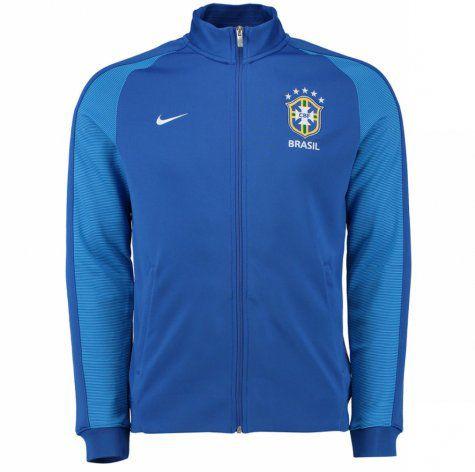 Jaqueta oficial Nike Seleção do Brasil 2016 II Azul