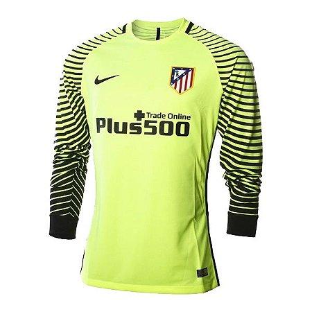 Camisa oficial Nike Atletico de Madrid 2016 2017 Goleiro