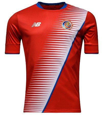 Camisa oficial New Balance seleção da Costa Rica 2016  2017 I jogador