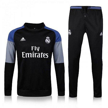 Kit treinamento oficial Adidas Real Madrid 2016 2017 III jogador