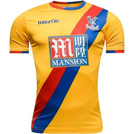 Camisa oficial Macron Crystal Palace 2016 2017 II jogador