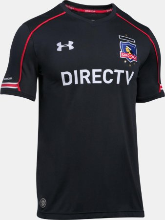Camisa oficial Under Amour Colo Colo 2017 II jogador