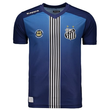 Loja Loucos por futebol - Camisa oficial Kappa Santos 2016 III ... 352e13a8dfaff