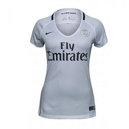 Camisa feminina oficial Nike PSG 2016 2017 III