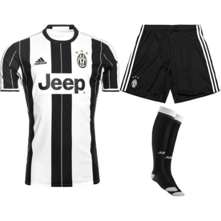 Kit adulto oficial adidas Juventus 2016 2017 I jogador