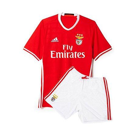 Kit oficial infantil Adidas Benfica  2016 2017 I jogador