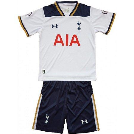 Kit infantil oficial Under Amour Tottenham Hotspur 2016 2017 I jogador