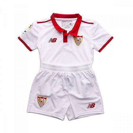 Kit infantil oficial New Balance Sevilla 2016 2017 I jogador