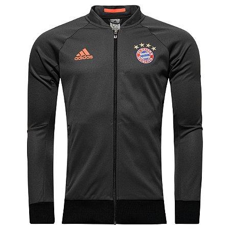Jaqueta oficial Adidas Bayern de Munique 2016 2017 preta
