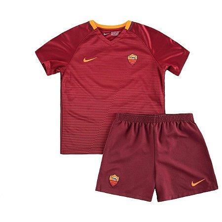 Kit oficial infantil Nike Roma 2016 2017 I jogador