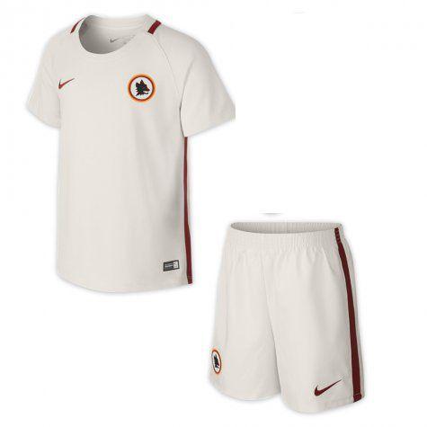 Kit oficial infantil Nike Roma 2016 2017 II jogador