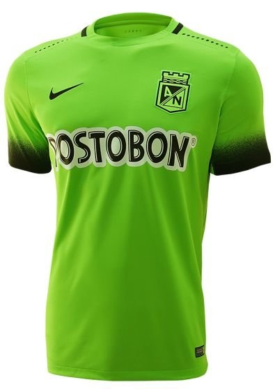 Camisa oficial Nike Atlético Nacional de Medellin 2016 III jogador