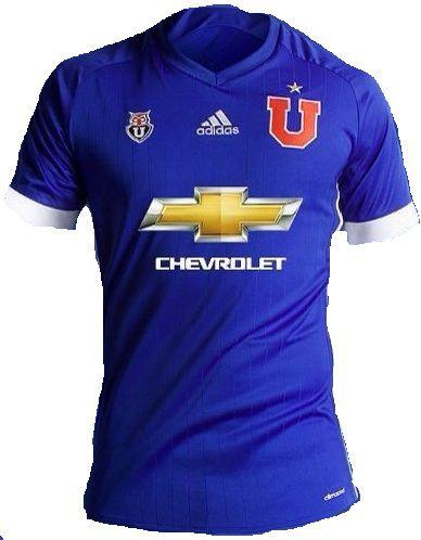 Camisa oficial Adidas Universidad de Chile 2017 I jogador