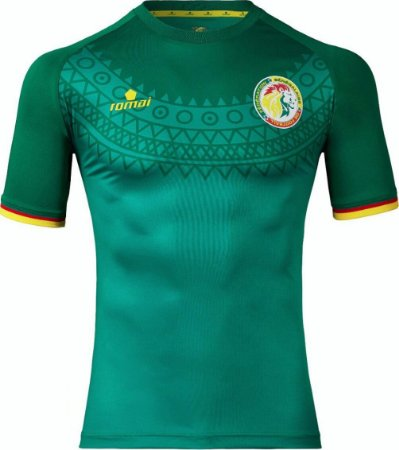 Camisa oficial Romai Seleção do Senegal 2017 I jogador