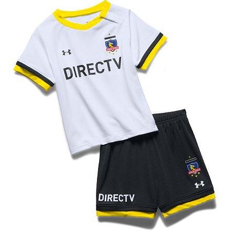 kit infantil oficial Under armour Colo Colo 2017 I jogador