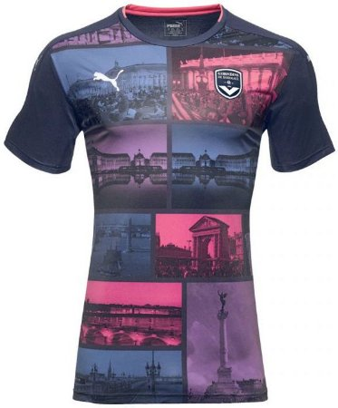 Camisa oficial Puma Bordeaux 2016 2017 III jogador