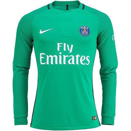 Camisa oficial Nike PSG 2016 2017 I Goleiro