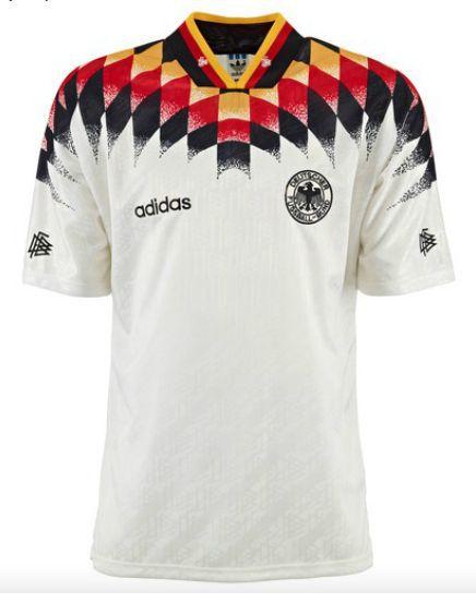 Camisa Retro Adidas Seleção da Alemanha Copa de 1994