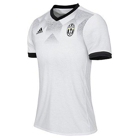 Camisa oficial treino Adidas Juventus 2016 2017 Branca