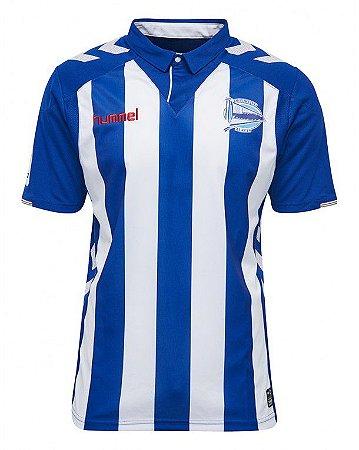 Camisa oficial Hummel Deportivo Alaves 2016 2017 I jogador
