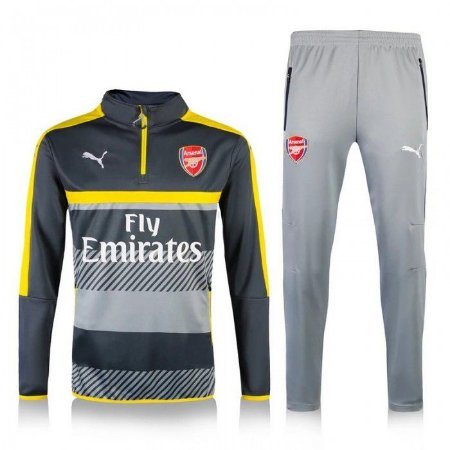 kit oficial treinamento Puma Arsenal 2016 2017 amarelo e preto