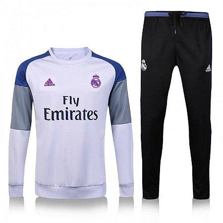 Kit treinamento oficial Adidas Real Madrid 2016 2017