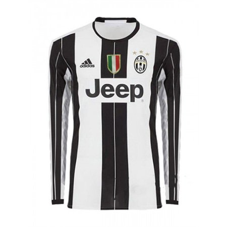 Camisa oficial Adidas Juventus 2016 2017 I jogador manga comprida