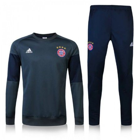 Kit treinamento oficial Adidas Bayern de Munique 2016 2017 Azul