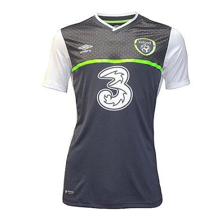 Camisa oficial Umbro seleção da Irlanda Euro 2016 III jogador