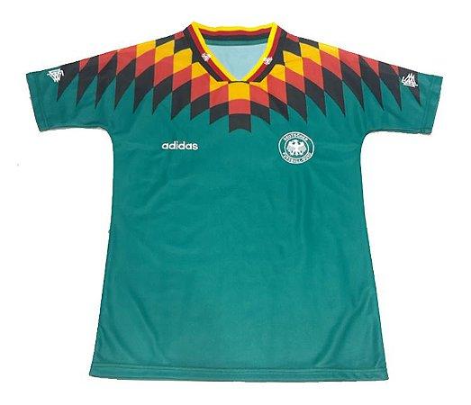 Camisa Retro Adidas Seleção da Alemanha Copa de 1994 II